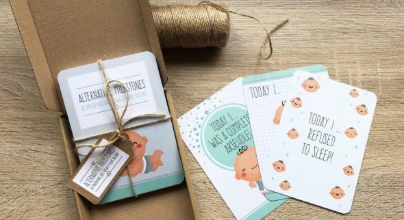 Alternative Baby Milestone Cards
