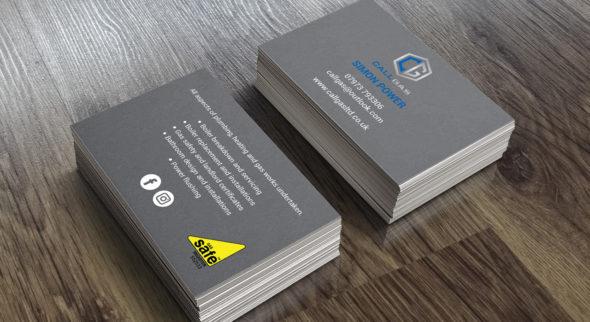 call-gas-business-card-design